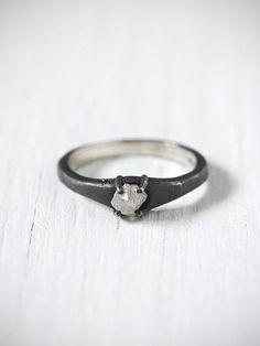 Free People Black Diamond Ring