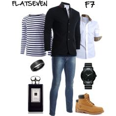 """""""casual outfits #15"""" #FLATSEVENSHOP.COM #men #fashion #outfit #style"""