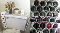 Se puede tener orden en todos los espacios de la casa aunque parezca imposible y no siempre necesitaremos comprar nuevos muebles o accesorios para almacenar nuestras cosas. Probablemente en tu casa tengas materiales que te ayuden en esta tarea. Cajas de cartón, tubos de PVC, ganchos, maderas, todo eso puede servir para organizar las cosas del hogar dándole un toque creativo y reutilizando en algunos casos. Hay bastantes opciones y comparto algunas a continuación.
