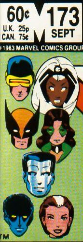 "Marvel corner box art - X-Men (with Kitty Pryde in her short-lived ""Sprite"" costume)"