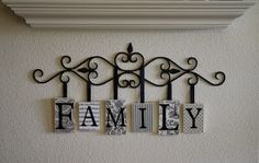 A Diamond in the Stuff: Family Hanging Plaques
