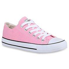 Damen Schuhe 25895 Sneaker Rosa 41 - http://on-line-kaufen.de/stiefelparadies/41-eu-stiefelparadies-damen-schuhe-sneakers-low