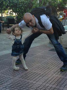 With Myriam :)