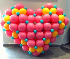 How to make a 'Puffed Heart' using Qualatex Quick Link Balloons.
