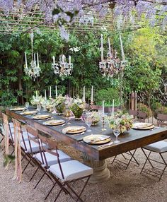 291 delightful outdoor table settings images in 2019 outdoors rh pinterest com