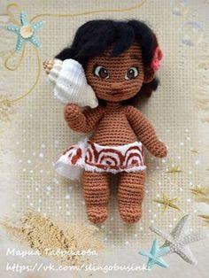Boo, monsters Inc, doll - Crochet Brazil Crochet Doll Pattern, Crochet Toys Patterns, Amigurumi Patterns, Amigurumi Doll, Crochet Dolls, Doll Patterns, Cute Crochet, Crochet Crafts, Crochet Baby