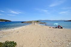 Feggari Beach in Lavrio, Attiki, Athens_ Greece