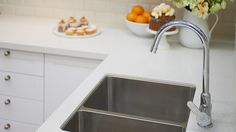 Kitchen Sinks - Mitre 10 under mounted sink and love the mixer