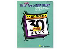 THIRTY MORE DAYS TO MUSIC THEORY Paperback - Ready-To-Use Lessons and Reproducible Activities for the Classroom. A boon for busy teachers/directors! Reproducible, practical kit present concepts in a logical sequence, with explanation, vocabulary, an activity and practice, correlated to the National Standards. Games and extra activities encourage creativity and composition. Substitutes can use it, too.  Grades 4-8.