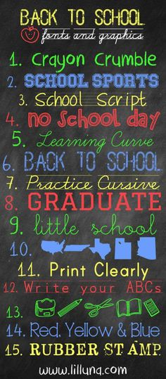 A collection of FREE Back to School Fonts and Graphics to use in your upcoming scrapbooking and paper crafting projects. Great for making Back-To-School signs, journaling and pages titles. Alphabet Police, Font Alphabet, Creative Clips, Computer Font, Computer Help, Silhouette Fonts, Silhouette Projects, Silhouette Cameo, Typography Fonts