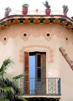Barcelona - Iradier 034 c   Modernisme