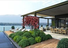 my house... on lake Geneve in Switzerland...