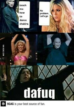 Funny pictures about Waka Waka Voldemort. Oh, and cool pics about Waka Waka Voldemort. Also, Waka Waka Voldemort. Harry Potter Comics, Mundo Harry Potter, Harry Potter Spells, Harry Potter Jokes, Harry Potter Pictures, Harry Potter Cast, Harry Potter Universal, Harry Potter Fandom, Harry Potter Characters