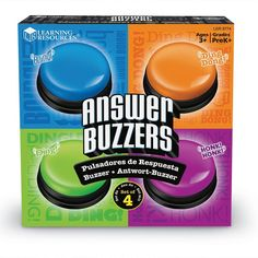 Amazon.com: Learning Resources Answer Buzzers: Office Products