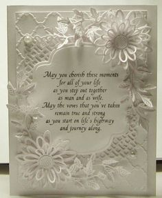 Wedding Card by lackpe - Cards and Paper Crafts at Splitcoaststampers