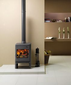 Astroline 350CB Cast Iron Stove by Dovre Stoves & Fires | ..