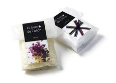 el huevo de Colón high cuisine and delicatessen products packaging by Canya Studio