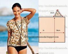 Square Beach Blouse Pattern