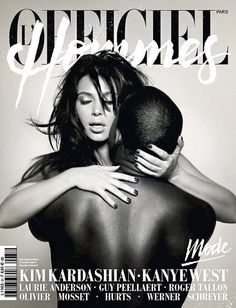 Kanye West and Kim K cover L'Officiel Hommes magazine with a racy look. Enjoy some other random Kardashian and West photos. Kanye West and Kim Kardashian are.