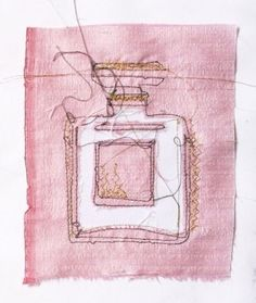 fashion on Illustration Served Chanel No 5, Coco Chanel, Parfum Chanel, Tout Rose, I Believe In Pink, Art Textile, Coco Mademoiselle, Pink Clouds, Oui Oui