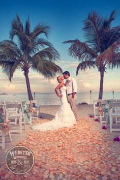Dream beach #wedding.