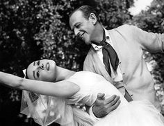 Audrey Hepburn and Fred Astaire in Funny Face (1957)