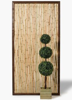 Jamali Gardens: 3 x 6ft Bamboo Screen