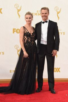Pin for Later: See Every Star on This Year's Emmys Red Carpet! Julianne Hough and Derek Hough
