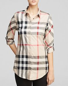 Burberry Brit Classic Check Shirt | Bloomingdale's