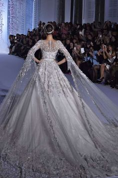 Ralph & Russo - Getty.  Reminds me of Camelot.