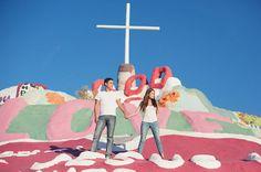 Salvation Mountain Engagement Photos: Dani + Dominic