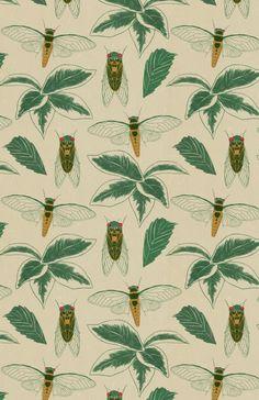 """derekq-art: """" Cicada pattern """""""