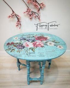 2019 New Milk Paint Colors Decoupage Furniture, Blue Furniture, Hand Painted Furniture, Recycled Furniture, Refurbished Furniture, Rustic Furniture, Furniture Makeover, Diy Furniture, Furniture Design
