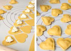 Empanadillas en Forma de Corazón para San Valentin