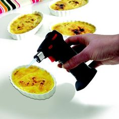 The Mastrad Kitchen Torch Is Ideal For Caramelizing Creams And Desserts,  For Peeling Vegetables Or