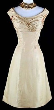1950's dress is absolutely gorgeous