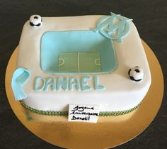 #birthday #cake #stade de #foot #3D