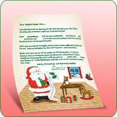 Letter From Santa's Workshop