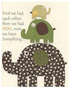 Items similar to Baby boy room Nursery print Baby elephant Set of 3 prints Green Tan Brown match the Baby Cocoa Baby room decor Elephant theme nursery decor on Etsy Kids Prints, Baby Prints, Nursery Prints, Nursery Art, Nursery Decor, Nursery Ideas, Room Ideas, Baby Boy Rooms, Baby Boy Nurseries