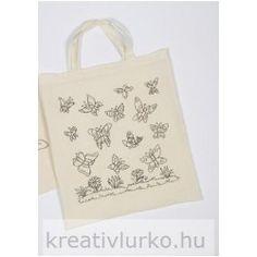 Kifesthető textil zsák - Pillangók Paper Shopping Bag, Reusable Tote Bags, Butterfly, My Love, Carry Bag, Pouch, Creative, Taschen, Cotton