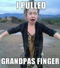 I'll be that Grandpa