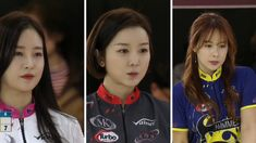 Hardly do we see 3 beautiful South Korean singers and actresses competing in one team at a bowling event. This is an amazing bowling match of the beauties.   Jung Chae-yeon (born December 1, 1997), better known by the mononym Chaeyeon, is a South Korean singer and actress. Lee Seung Ha (Born: August 16, 1989) is a South Korean singer and actress.