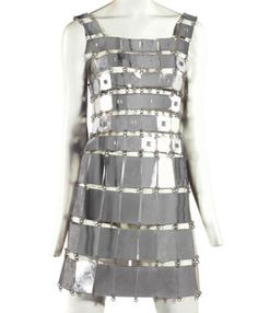 Paco Rabanne Aluminum Tunic Dress