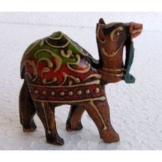 Wood Camel Emboss Painted Online Shopping India Buy Handicrafts Gifts Crafts