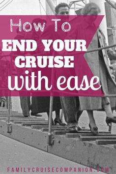Minimize your stress and ease your family's journey as you wrap up your cruise vacation. Avoid excess waiting, travel snafus, and surprise bills. Here are our top tips and strategies to make your disembarkation day easier. Packing List For Cruise, Cruise Tips, Cruise Travel, Cruise Vacation, Bahamas Vacation, Bahamas Cruise, Caribbean Cruise, Family Cruise, Family Travel