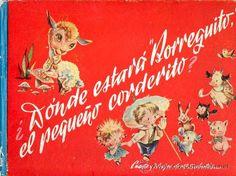 CUENTO ANTIGUO - DONDE ESTARÁ BORREGUITO - CUENTO Y DIBUJOS DE SABATÉS - 1949