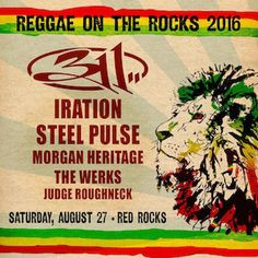Red Rocks Entertainment Concerts | Concerts Events | Detail | Reggae On Th 8 27 2016