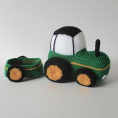 Ravelry: Tractor pattern by Amanda Berry