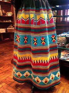*Seminole skirt*