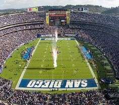 Qualcomm Stadium:    Its construction began in 1965 and was named San Diego Stadium when it was completed. It was in 1997 when Qualcomm Telecommunication company funded its expansion project and got its naming rights in return which will expire in 2017.